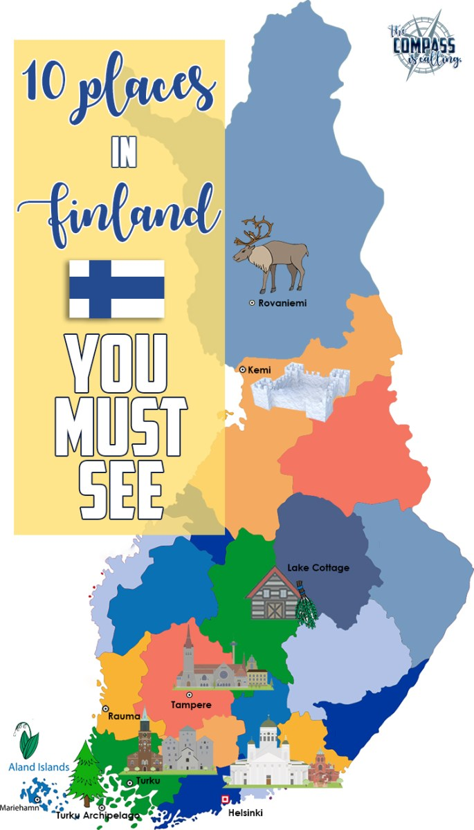 10 Places in Finland You Must See