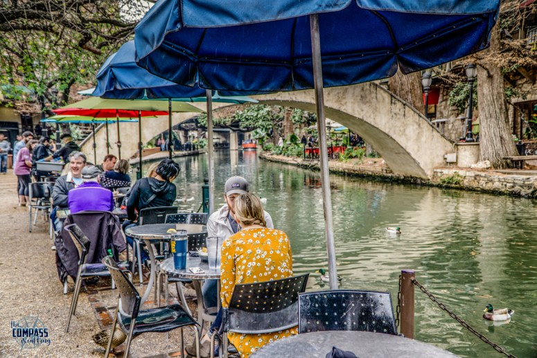 Eat at a smaller, local eatery along the Riverwalk and skip the chains.