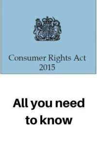 Consumer Rights Act 2015 legal crest