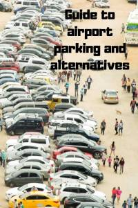 cars parked in open space