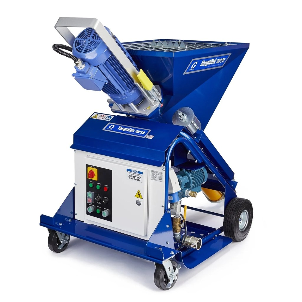 self leveling contractor equipment