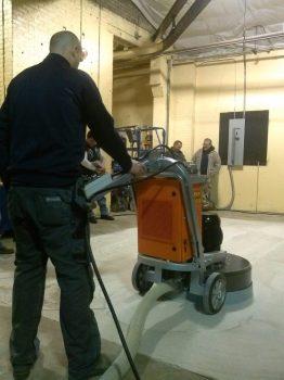 Husqvarna Concrete Polishing