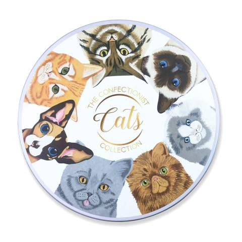 Cats Biscuit Collection Tin Lid