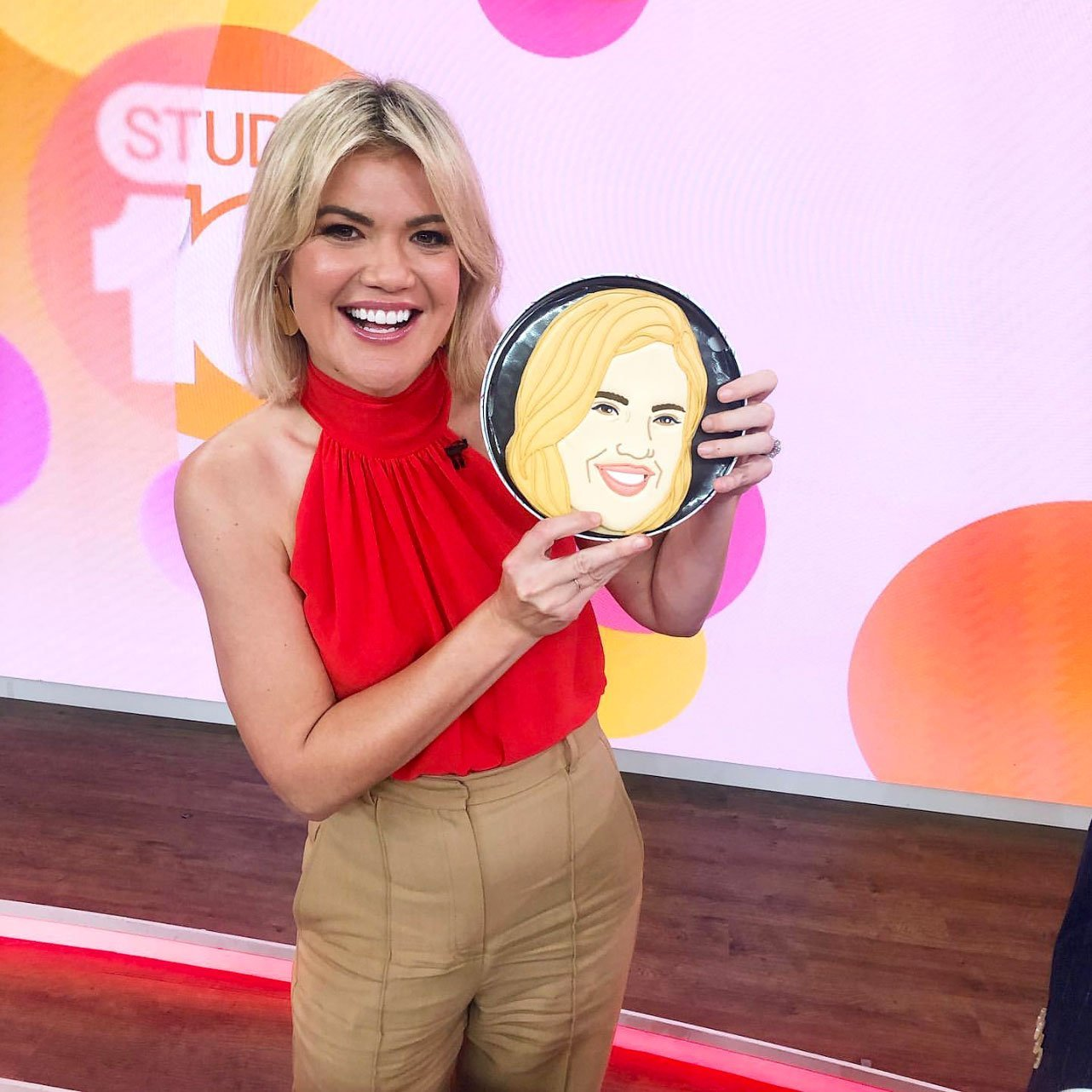 Face Biscuits on Studio 10