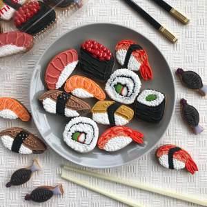 Sushi Custom Cookies