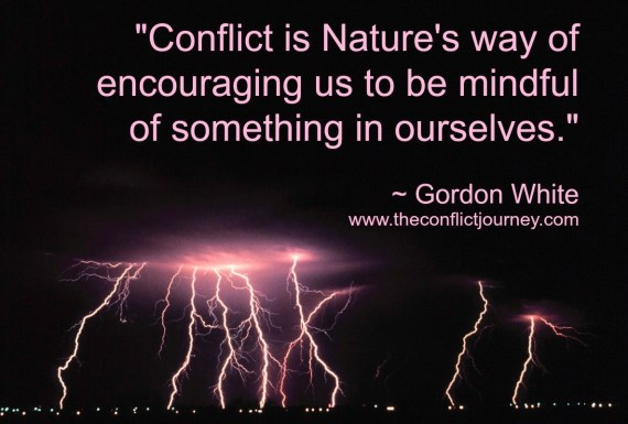 Quote by Gordon White over lightning