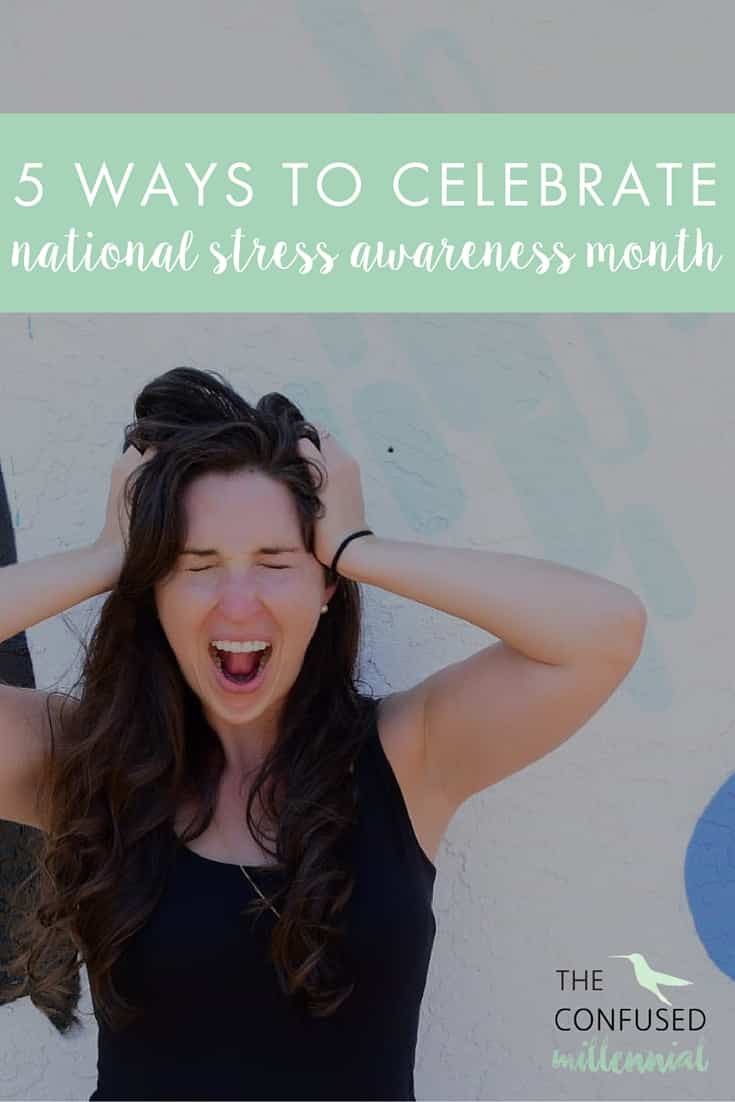 April is National Stress Awareness Month! We are talking about ways to manage stress on the blog. Check out these 5 easy ways to reduce stress and bring on happiness!