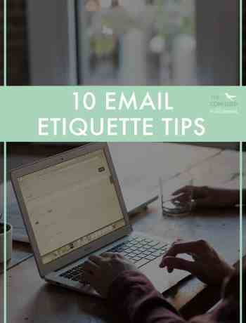 "Quick PSA about e-mail etiquette. It's one of those things that I really struggled to learn as an early twenty something, and often found myself crying and screaming at my inbox ""come back, come back!"" Whether its because I sounded dumb, for got something, or wrote something full of typos and emoji's, I've probably made every e-mail mistake in the book! So here are 10 tips to perfect email etiquette for your twenties."