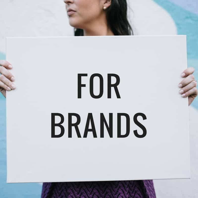 brands working with bloggers, influencer marketing
