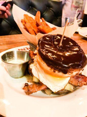 donut burger rok brgr delray beach florida