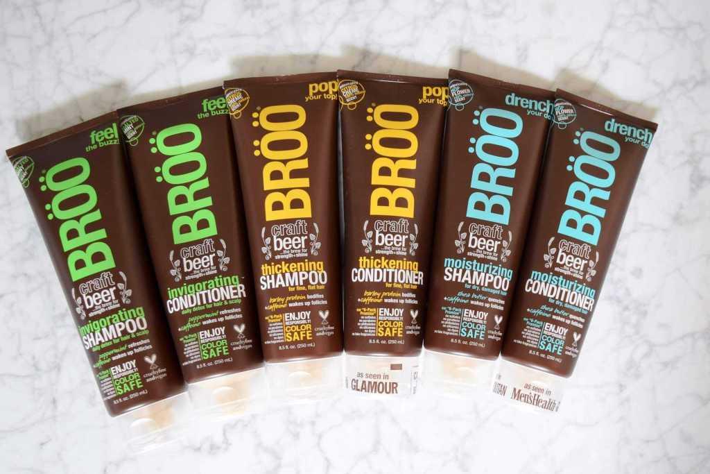 broo shampoo and conditioner