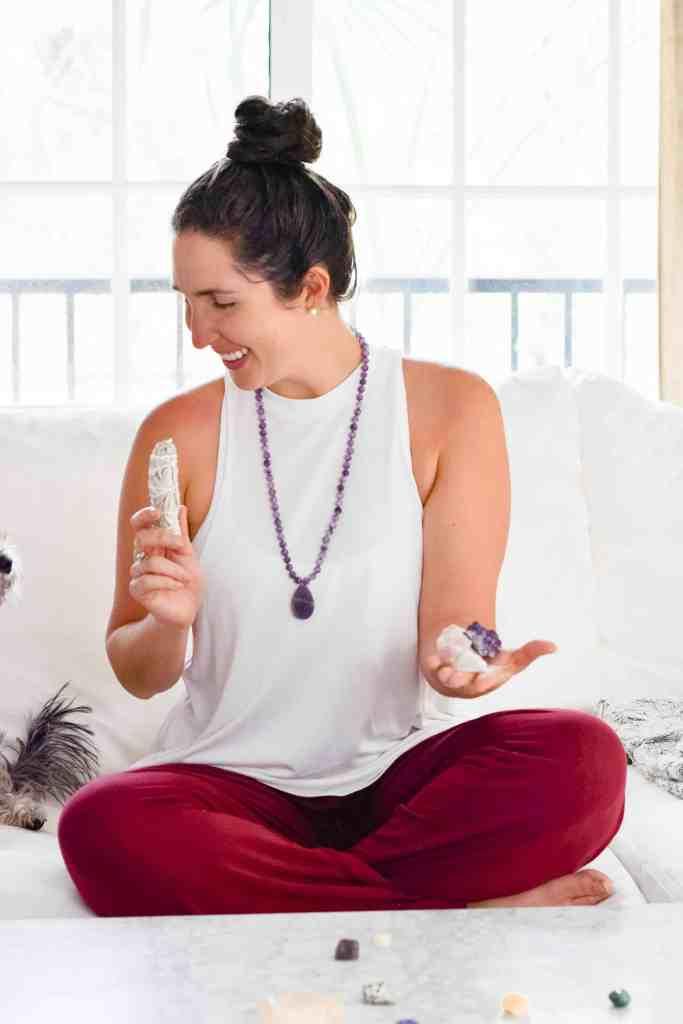 millennial wellness trends 2018, smudging, sage