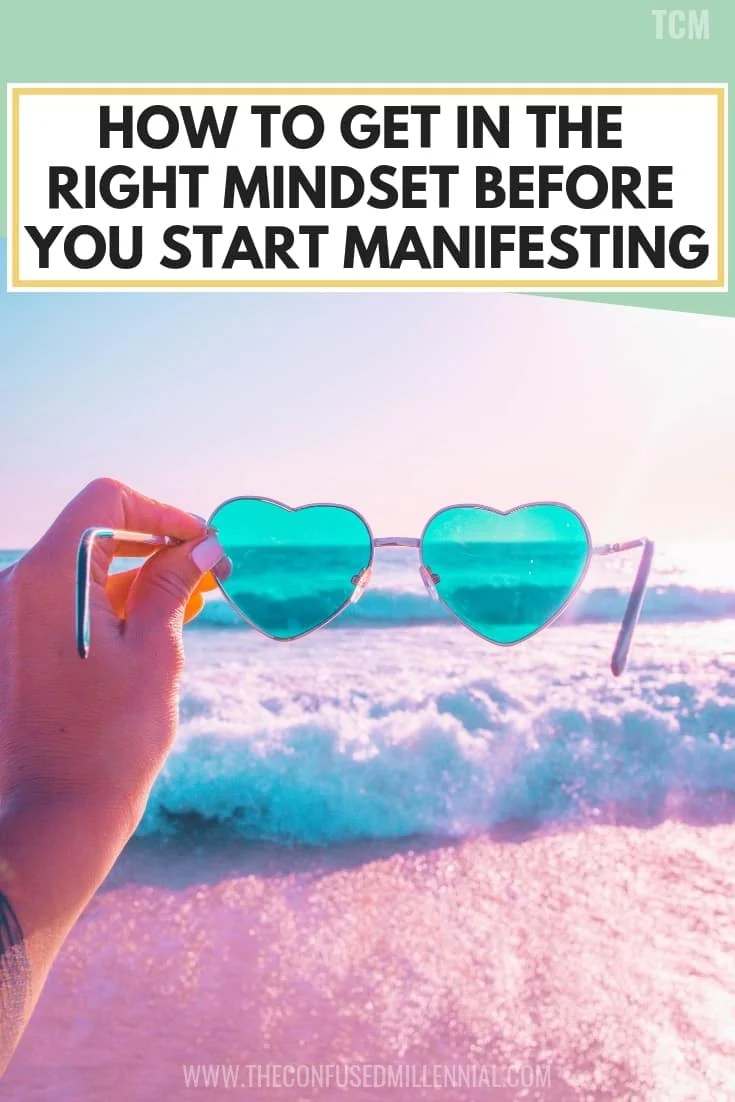 How to Get In The Right Mindset Before You Start Manifesting, mindset is everything quotes on monday, self development and growth success, abundance affirmations and lessons, how to use the law of attraction to get what you want like success