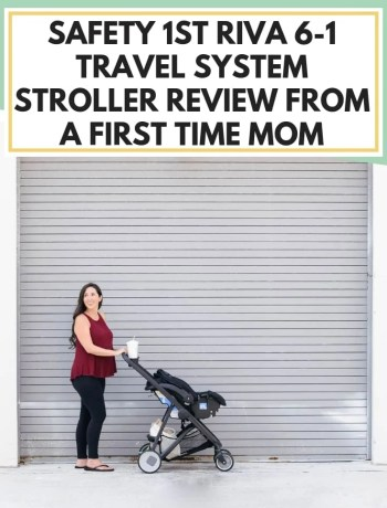 RIVA Flex Stroller Review From A First Time Mom. lightweight convertible travel system and car seat stroller review, best stroller for a new born with carseat combo, #stroller, #strollerreview, #travelsystem, #travelsystemreview, #babyproduct