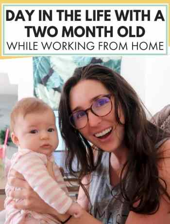 Day In The Life With A Two Month Old While Working From Home, day in the life of a work from home mom, ditl with newborn baby at home, working parents managing time with 2 month old baby, #parenting, #parentingstuff, #parenthood, #twomonthold, #2monthold, #newmom, #ditl, #dayinthelife