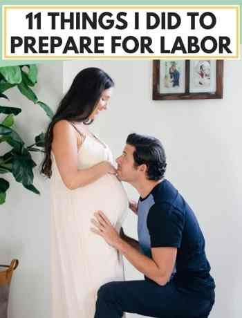 How To Prepare For Labor and delivery, things to do for a natural childbirth to prepare the body and mentally during pregnancy, how to avoid induction and a c section during the third trimester, things to create pre birth plans and thoughts on choosing a doula, first time mothers tips for before baby to get the birth you want while staying healthy, using breathing techniques, and prenatal exercise, and more! #laboranddelivery #pregnancy