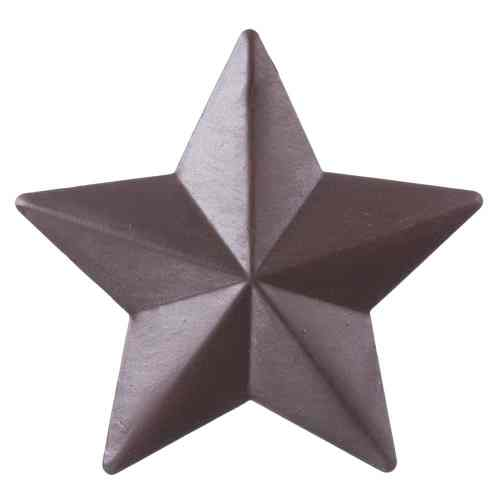 "5"" Raised Rustic Star Ornament"