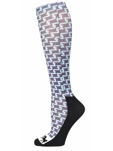 Equine Couture Geo Padded Boot Socks