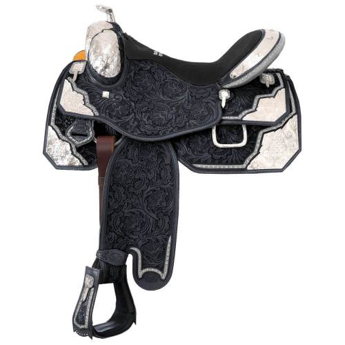 Extreme Silver Show Saddle