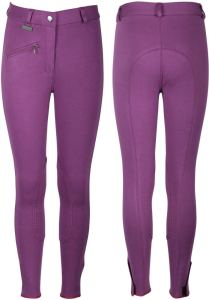 Harrys Horse Slim Fit Riding Breeches Kids Orchid