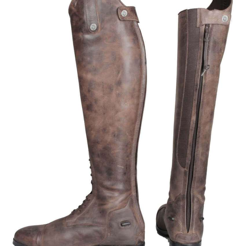 Horka Distressed Leather Lizz Boots