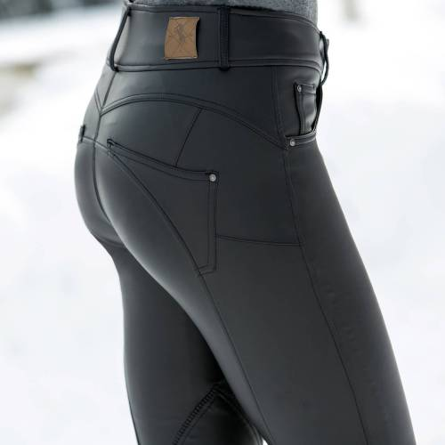Horze Victoria Leather Breeches