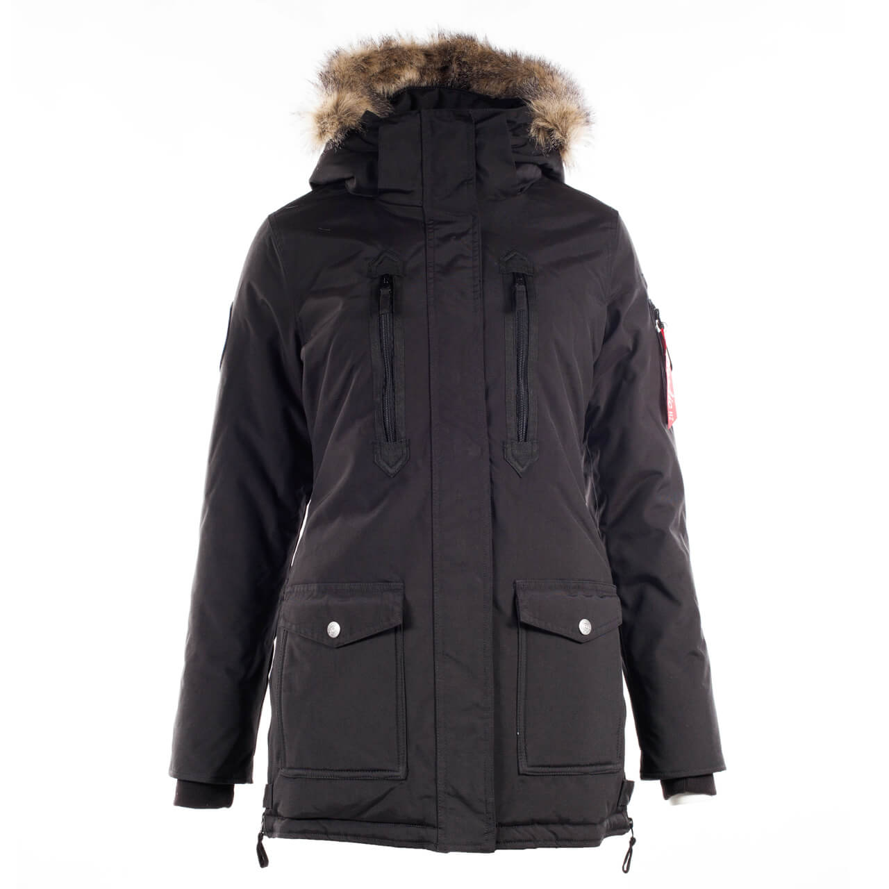 Supreme Brooke Women's Long Parka Jacket