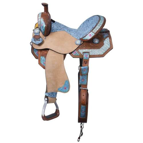Macaelah Southern Charm Collection Barrel Saddle