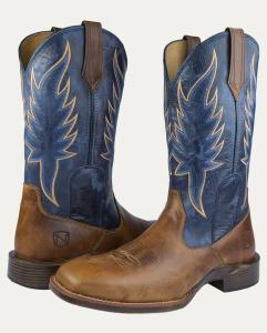 Noble Outfitters Men's All Around Boots Square Toe Inferno