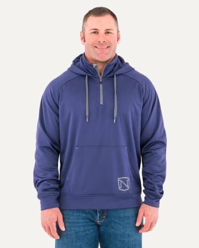 Noble Outfitters Men's Warmwear 1/4 Zip Hoodie