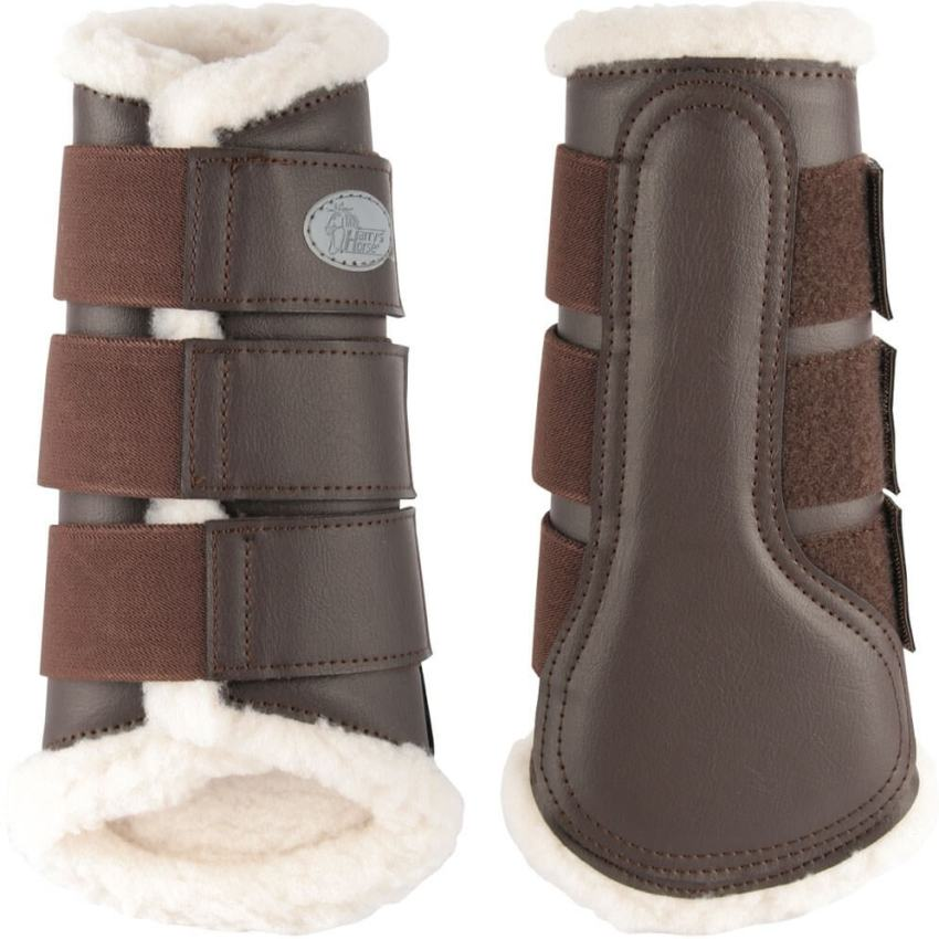 Harrys Horse Protection boots Flextrainer Brown