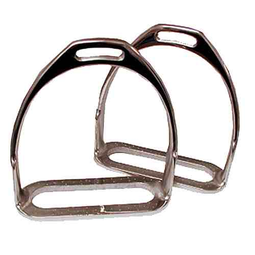 Prussian Polo Stirrup Irons - 3 1/2""