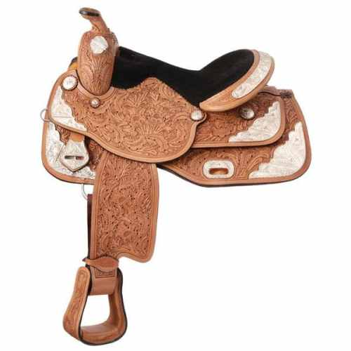 Seven Oaks Silver Show Saddle Gaited Cross Package