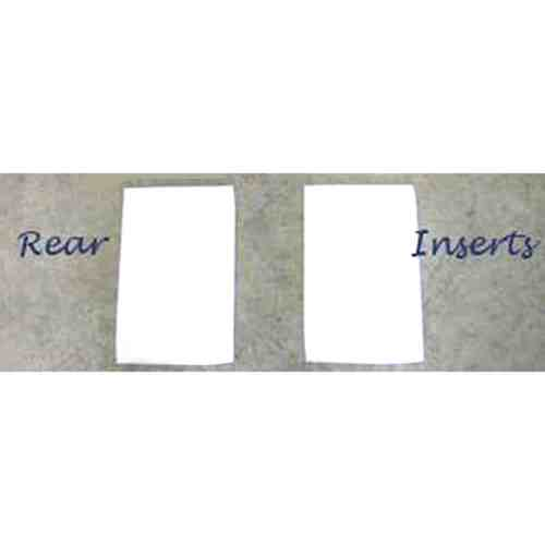"ThinLinePro Tech Felt Western Pad Square or Barrel Inserts | Re 1/4"" S Rear"