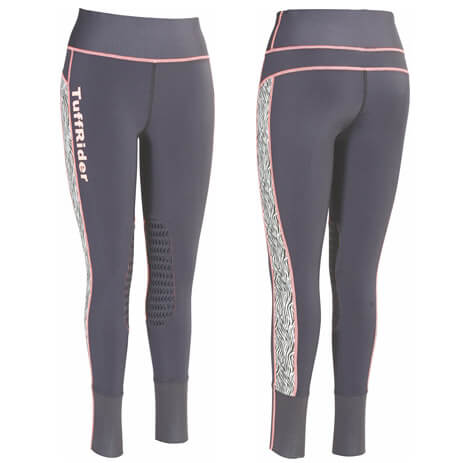 TuffRider Children's Zebra Marathon Tights Breeches