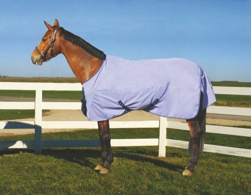Tuffrider 600D Coolmax Turnout Sheet BLUE ICE