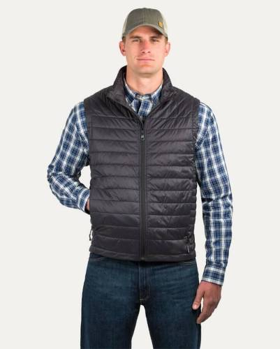 noble outfitters showdown insulated vest black