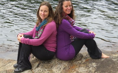 047: Downward Dog in Prenatal Yoga with Kim MacDonald-Heilandt and Shannon Crow