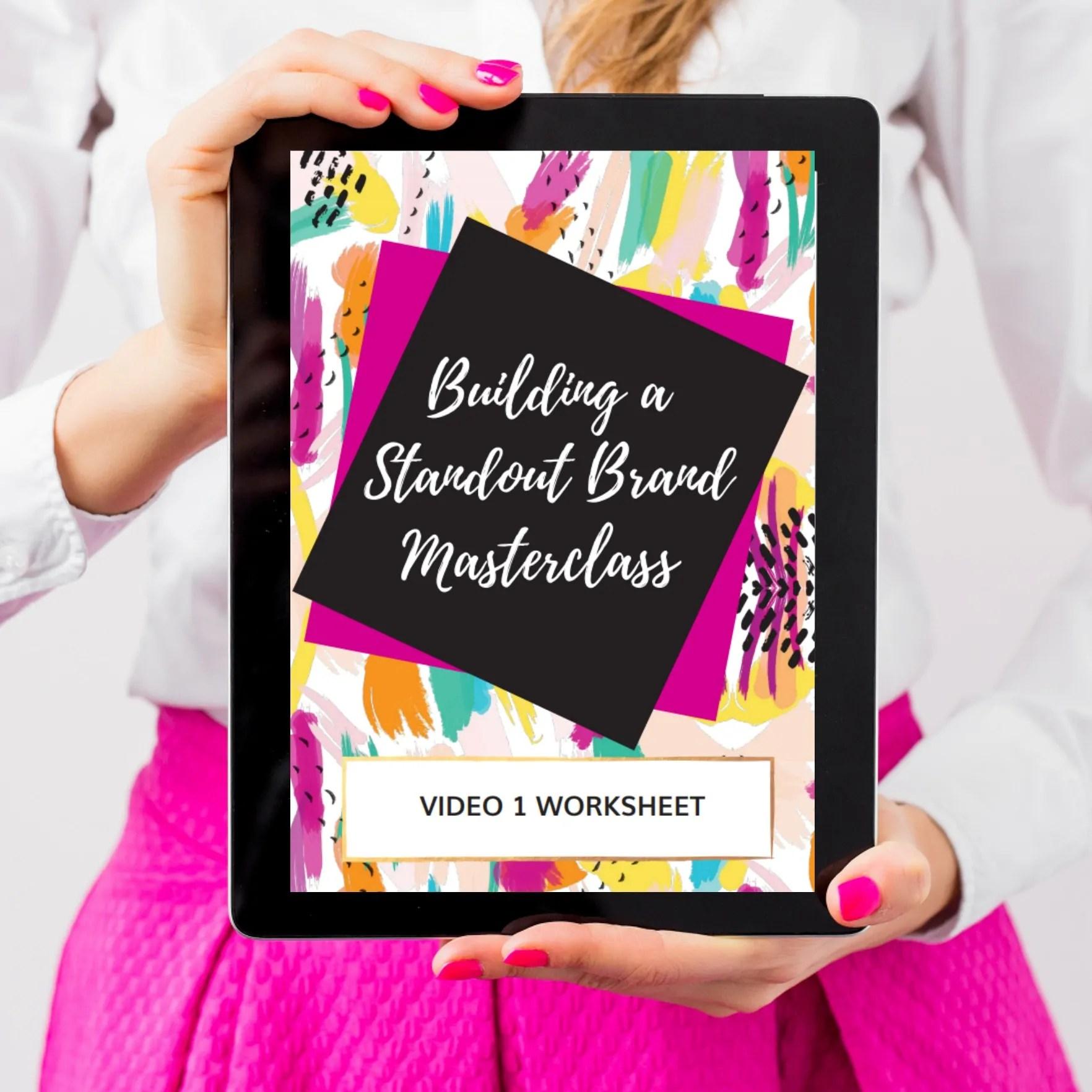 Branding Masterclass Signup