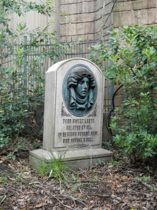 Haunted Mansion Headstone