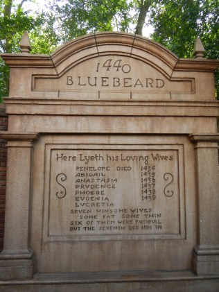Haunted Mansion Bluebeard