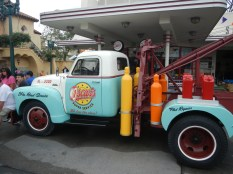 Old Time Tow Truck