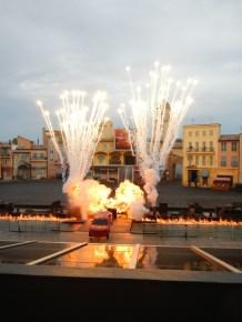Car Jumping Pyro