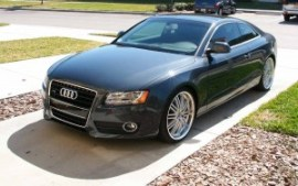 2009 Audi A5 3.2L Meteor Grey Cars Past Present and Future