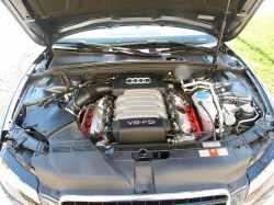 2009 Audi A5 3.2L Meteor Grey Hood Open Cars Past Present and Future
