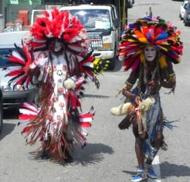 Trinidad Bustle Dancers