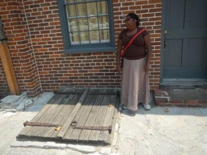 Lauren Near a Cellar Door