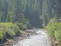 River in Keystone Village