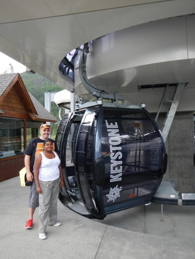 Gondolas at Keystone Inn Colorado