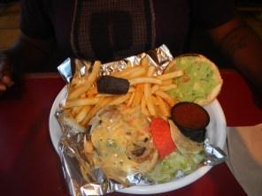 Chimayo Guacamole Burger